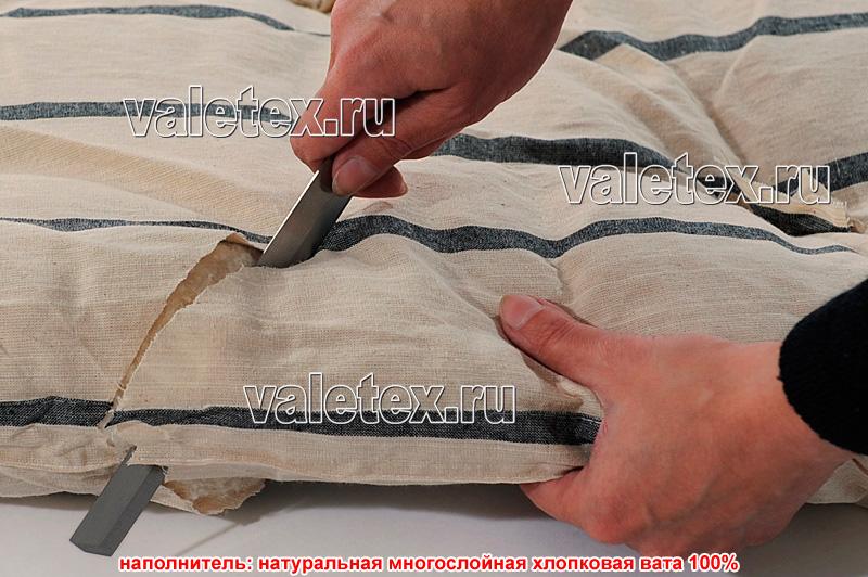 Как отремонтировать ватный матрас своими руками 22